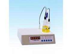 卡尔.费休溶剂微量水分测定仪