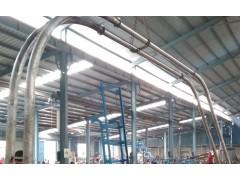 不锈钢面粉管链输送机 粮食管链提升机 尼龙料管链上料机