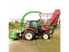 小型滚刀青储机 背负式玉米收割机 青贮拖拉机带割草机