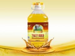 玉金香食用调和油芝麻花生调和油5L 非转基因公开配比粮油批发