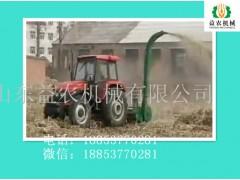 养殖干湿料秸秆回收机 益农青秸秆青储机咨询