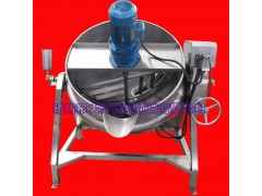 无积碳型炒酱设备 JCG型优质夹层锅