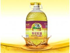 玉金香食用油5L 压榨一级葵花籽油食用油厂家团购批发