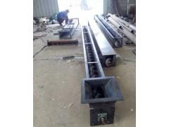 219mm木屑敞口绞龙  倾斜碳钢U型送料机