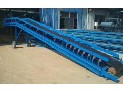 输送散料双边皮带输送机厂家 小型装卸车防滑皮带输送机