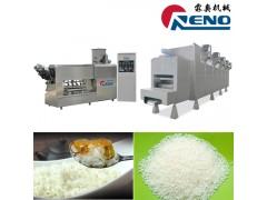 速食营养大米机器 双螺杆膨化机