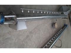 熟物料螺旋提升机 兴亚带蒸汽阀螺旋输送机给料机供应