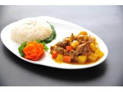 冷冻调理包咖喱牛腩 快餐店必点餐品  隆泰来味宝厂家直销