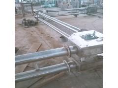 高温物料铁盘片管链输送机  防尘管链式提升机