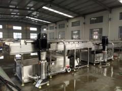 牛蒡高压水喷淋清洗机厂家