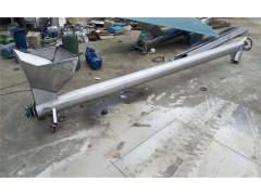 干粉螺旋输送机 201不锈钢管式螺旋给料机 圆管螺旋机供应