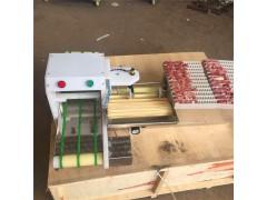 商用全自动牛羊肉穿串机木签钢签烧烤工具串串神器鸡心鸭肠穿串机