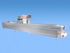 全自动连续拉伸膜多功能食品真空包装机