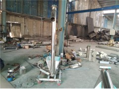 兴亚螺旋给料机 垂直上料不锈钢小型螺旋提升机供应厂家