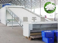 全自动化蚕茧烘干机大型网带式烘干设备鲜茧烘干生产线厂家干茧机