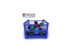 带支架可整理可分类不锈钢定制仓储笼铁箱蝴蝶笼