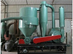 高处送料软管气力输送机 沙克龙除尘气力吸粮机