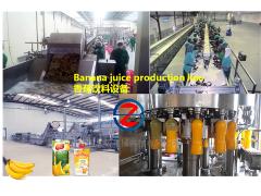 香蕉果汁生产线 水果深加工设备