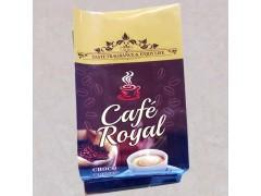 供应咖啡豆单向排气阀铝箔袋速溶咖啡纯铝箔袋