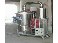 电温控烧酒设备 双层锅酿酒机购机带技术