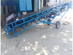 带升降皮带输送机 移动高低可调皮带机 带式输送机兴亚