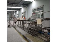 大产量全自动干豆腐机设备大型干豆腐生产线免费技术