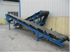 高度可调皮带式运输机 高品质胶带皮带输送机