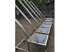 防腐蚀螺杆式提升机 304材质粉剂密封圆管加料机