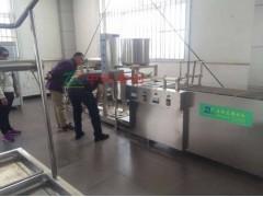 小型自动豆腐皮机械厂家 全自动做千张豆腐皮的机器价格