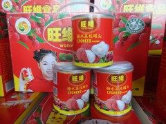 糖水荔枝罐头礼盒装300g*8罐厂家直销出口内销 招商