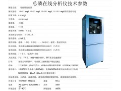 重金属总磷在线自动监测仪RenQ-IV