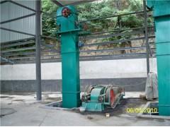颗粒装灌垂直提升机 循环式肥料钢斗提升机