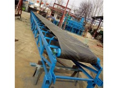 沙子运输用升降输送机 各种长度皮带运输机供应