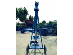 倾斜式钢管提升机 轴承密封式螺旋输送机