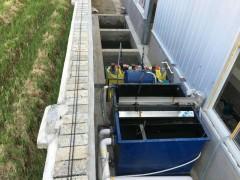 厨房带渣污水处理工艺分解