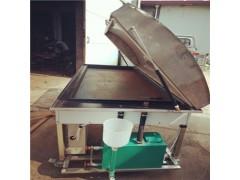 生铁馒头锅贴机 乐旺大量供应成都上蒸下烤锅贴馍馍机 蒸馒头机