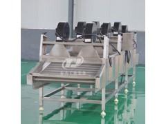 厂家生产 软包装袋食品表面除水风干流水线 果蔬风干机