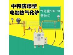 中邦气化炉,50KG壁挂式气化炉,电加热式法兰连接气化炉