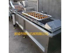德仁专业生产叶茎类蔬菜清洗机    菠菜气泡清洗机