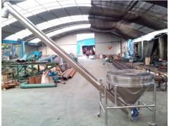 面粉螺旋上料机 不锈钢108管径大料斗螺旋给料机兴亚供应