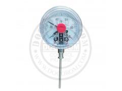 万向型电接点式双金属温度计