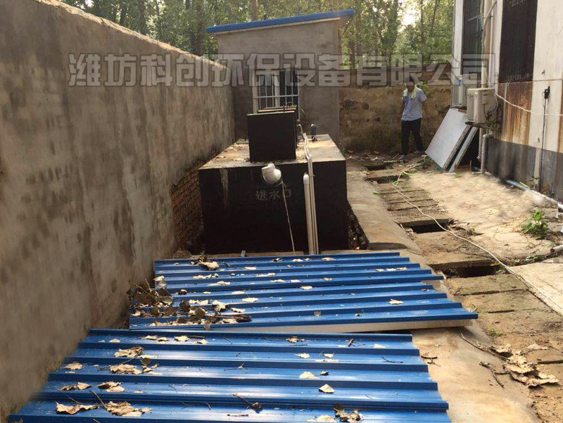 养殖污水处理设备安装条件