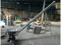 各种规格螺旋式收粮食机 螺旋上料机 管式提升机兴亚