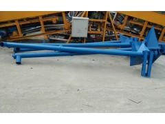 螺旋输送机4米价格 车间用生物质颗粒管式螺旋上料机供应