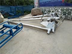 螺旋输送机 倾斜输送108管径螺旋输送机 不锈钢粮食上料提升机加工
