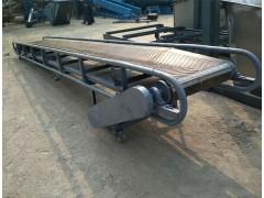 兴亚圆管移动式装车可升降皮带传送运输机家用上料机供应