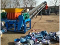 厂家直销垃圾双轴撕碎机 薄膜塑料撕碎机600型