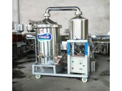 50斤生料酿酒机 电加热烧酒设备 烤酒工艺