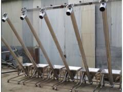 小型管式螺旋输送机 螺旋上料机 石子混凝土螺旋提升机