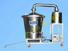 纯粮生料酿酒机双层锅电气两用烧酒锅